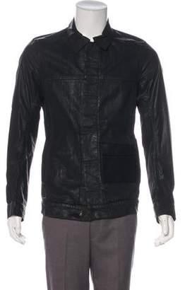 DSQUARED2 Coated Denim Jacket