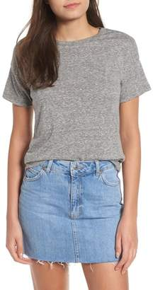 Topshop Short Sleeve Marl T-Shirt