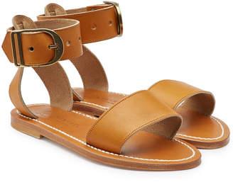 K. Jacques Leather Cabret Sandals
