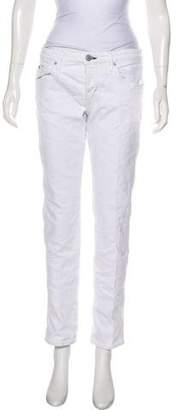 Amo Tomboy Mid-Rise Straight-Leg Jeans