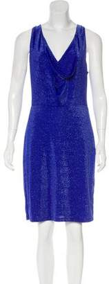 BCBGMAXAZRIA Knee-Length Metallic Dress w/ Tags