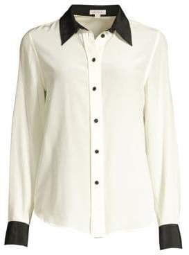 Marc Jacobs Silk Button-Down Top