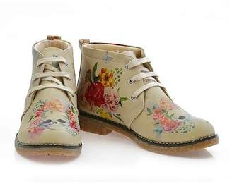 Goby Floral Print Chukka Boot