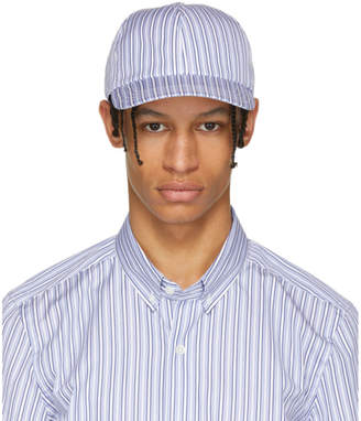 Harmony Blue Striped Arnaud Cap