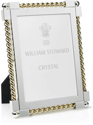 "William Yeoward Gold Twist Picture Frame, 5"" x 7"""