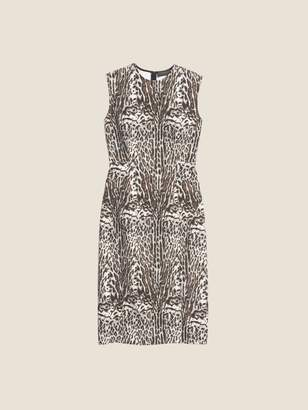 Donna Karan Donnakaran Printed Sleeveless Dress