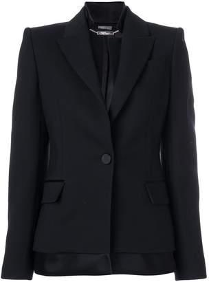 Alexander McQueen layered blazer
