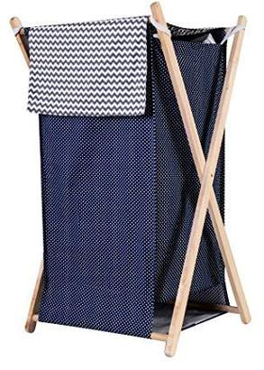 Trend Lab Perfectly Navy Hamper Set by