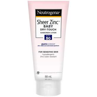 Neutrogena Sheer Zinc Baby Sunscreen Lotion SPF 50 88 mL