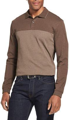 Van Heusen Flex Long-Sleeve Polo Shirt