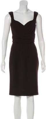 Dolce & Gabbana Wool Knee-Length Dress w/ Tags