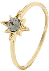 Accessorize Sparkle Star Ring With Swarovski® Crystal