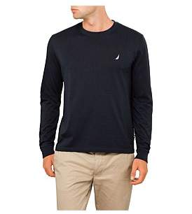Nautica Long Sleeve Basic Logo Tee