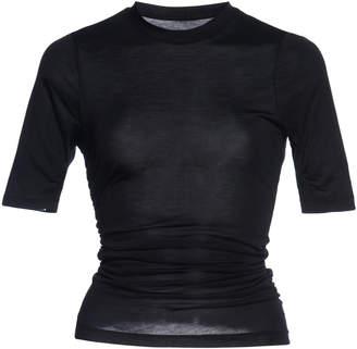Jacquemus Souk Gathered Cotton-Jersey T-Shirt