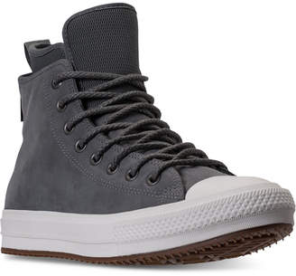 Converse Men's Chuck Taylor All Star Waterproof Boot Nubuck Hi Casual Sneakers from Finish Line