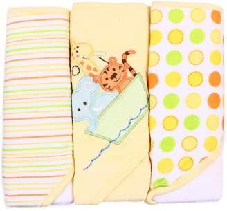SpaSilk Soft Terry Hooded Towel Set