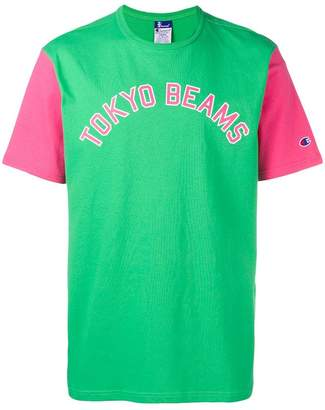 Champion X TOKYO Beams Block Colour T-shirt