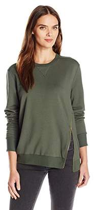 C&C California Women's Zipper Lounge Sweatshirt
