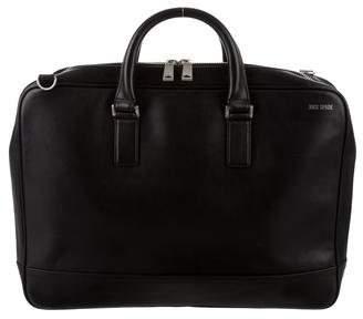 Jack Spade Leather Computer Briefcase