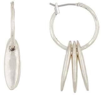Lucky Brand Spike 20mm Hoop Earrings