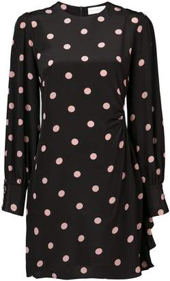 Zimmermann polka dot mini dress