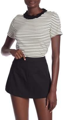 ENGLISH FACTORY Short Sleeve Striped Tee