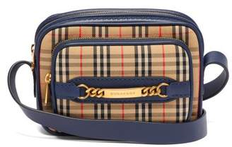 Burberry - 1983 Check Cotton Camera Bag - Mens - Navy