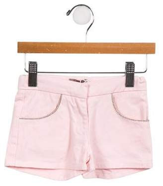 Emile et Ida Girls' Four-Pocket Shorts w/ Tags