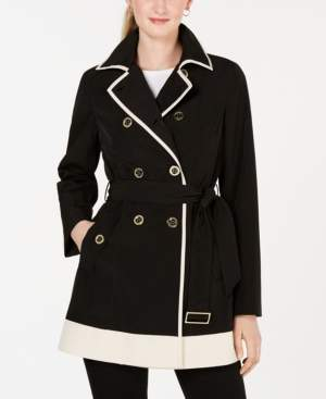 Laundry by Shelli Segal Double-Breasted Trench Coat