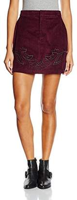 MinkPink Women's Valley of The Vine A-Line Plain Skirt,(Manufacturer Size:Large)