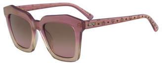 MCM Square Zyl® Sunglasses w/ Logo Arms