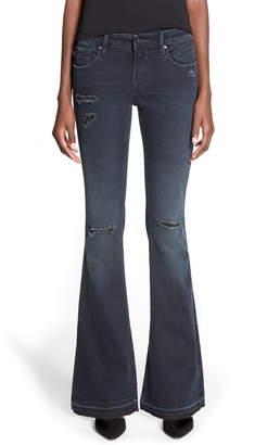 Vigoss 'Boho Flare' Destroyed Jeans