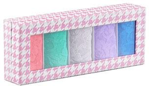 Hanky Panky Original-Rise 5-Piece Thong Boxed Set, French Quarter