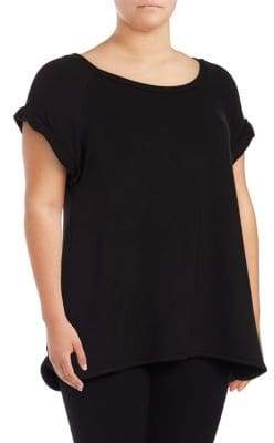 Lord & Taylor Plus Hushed Top