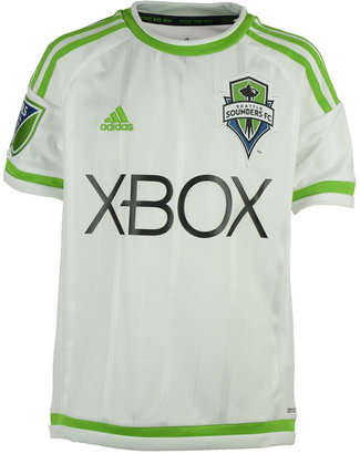 adidas Seattle Sounders Fc Secondary Replica Jersey, Big Boys (8-20) $65 thestylecure.com
