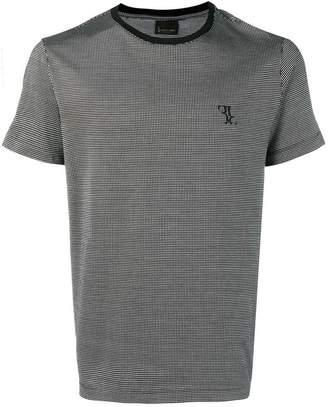 Billionaire square pattern knitted T-shirt