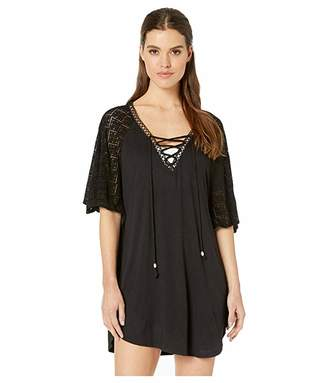 Dotti Paradise Solids Poncho Cover-Up