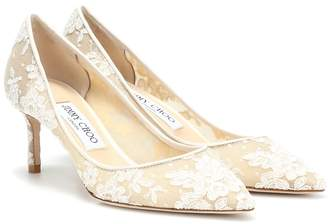 Jimmy Choo Romy 60 lace pumps