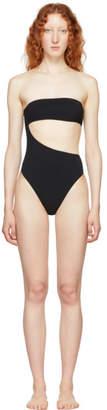 Stella McCartney Black 90s Strapless Swimsuit