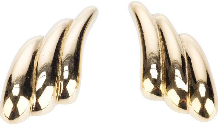 Saint Laurent Vintage molded earrings