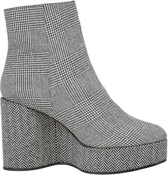 Robert Clergerie Belent Plaid Booties
