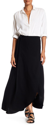 Theory Admiral Crepe Skirt $355 thestylecure.com