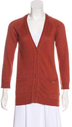 Chloé Perforated Cardigan
