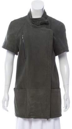 Vena Cava Distressed Leather Jacket