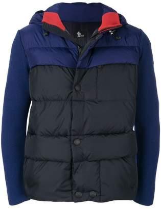Moncler contrast sleeve jacket