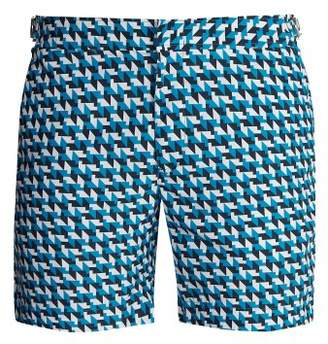 Orlebar Brown Bulldog Barthmann Swim Shorts - Mens - Light Blue