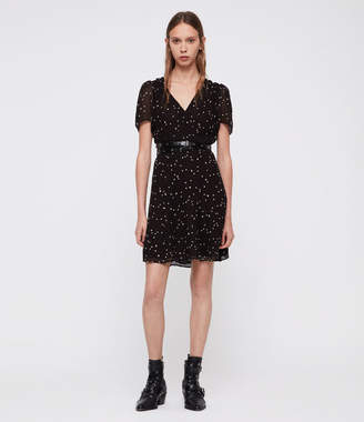 AllSaints Lucia Star Dress