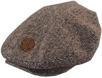 Celtic Patrick Francis Tweed Flat Cap Circle Emblem
