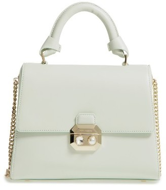 Ted Baker London Leather Top Handle Satchel - Green $295 thestylecure.com