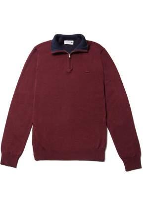 Lacoste Men's Zip Jersey Sweater